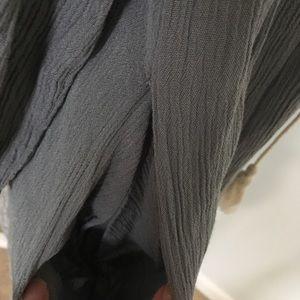 Knox Rose Dresses - Knox Rose Cold Shoulder Embroidered Boho Dress
